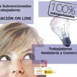 Cursos On Line Subvencionados Trabajadores Comercio y Hostelería