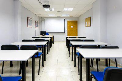 Alquiler de aulas en Málaga