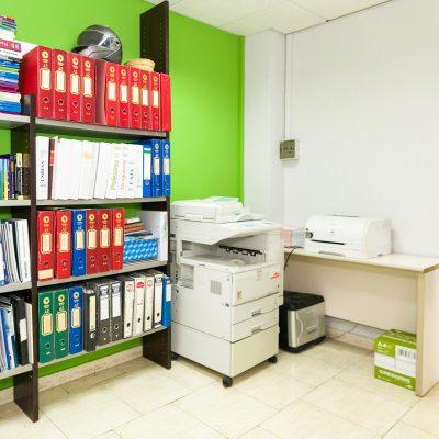 Impresión de documentos, fax y almacenaje de archivos