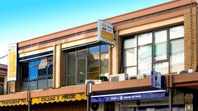 Fachada de Grupo Alce, alquiler de despachos y oficinas