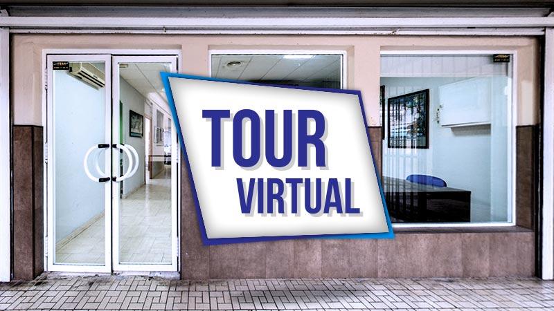 Tour virtual de las instalaciones en Málaga